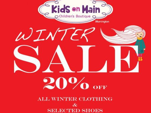 20% Off Kids Clothing & Shoes