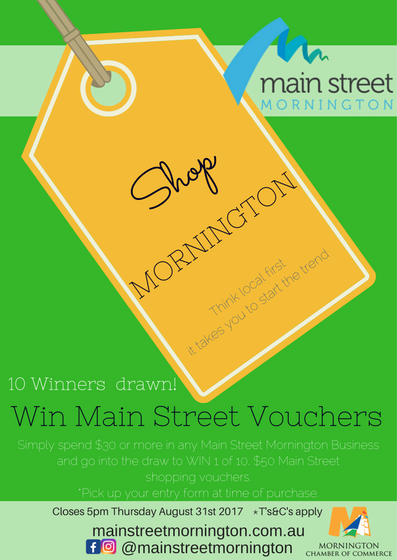 WIN WIN WIN August Shop Mornington