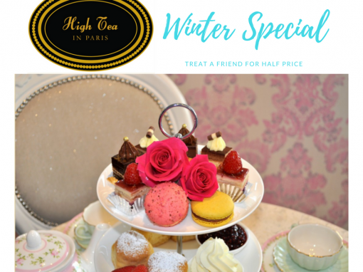 High Tea Winter Special! Treat a friend for HALF PRICE!
