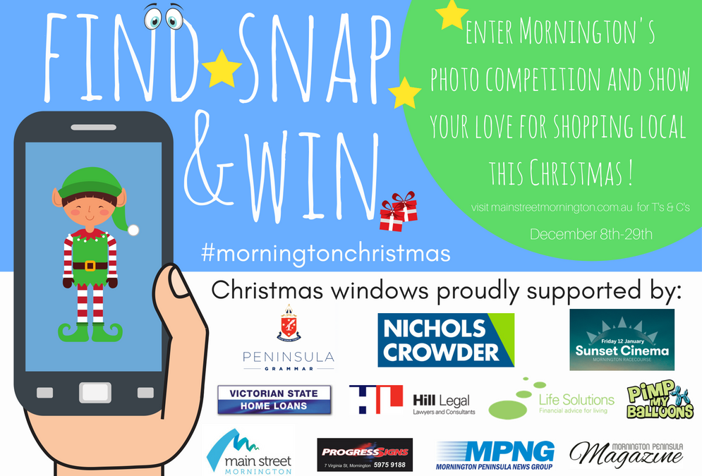 Find Snap &Win Competition from Dec 8th-29th