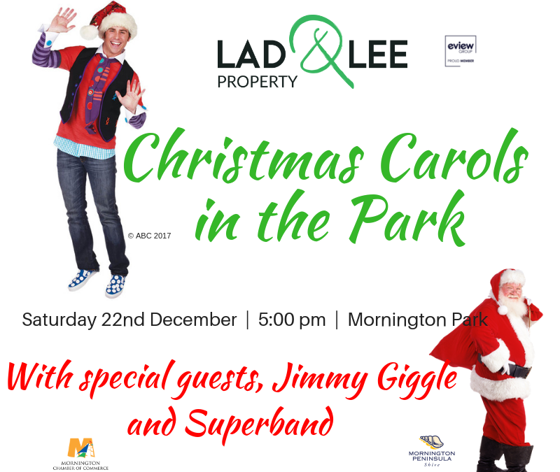 Mornington Christmas Carols in the Park, Dec 22nd