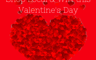 Win this Valentine's Day – closes 20th Feb